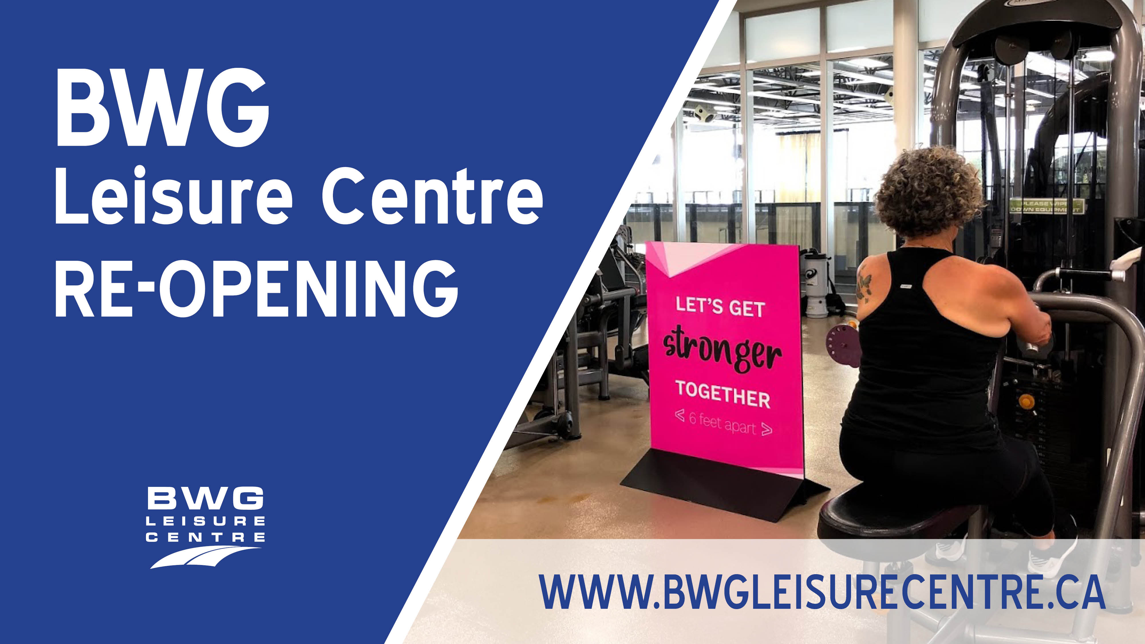 BWG Leisure Centre website
